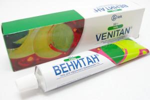 Фото: крем и гель Венитан от варикоза