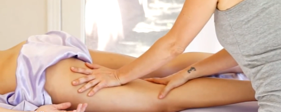 фото: массаж при варикозе