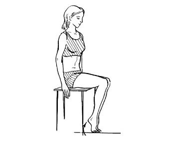 Четвертое упражнение при варикозе