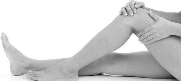 фото: массаж колена