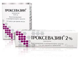 preparat Troksevazin